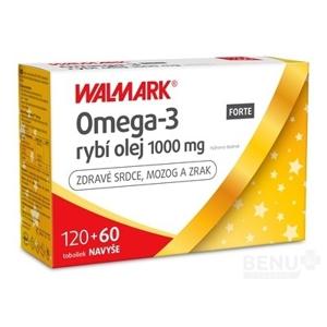 WALMARK Omega-3 rybí olej FORTE PROMO 2019 cps 120+60 ks