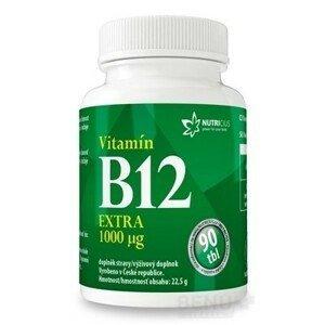 NUTRICIUS Vitamín B12 EXTRA 1000 µg tbl 90