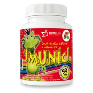 IMUNÍCI Hliva ustricová s vitamínom D3 pre deti 90 tabliet
