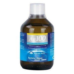 Pharma Activ koloidne striebro Ag100 hustota 20ppm 300 ml