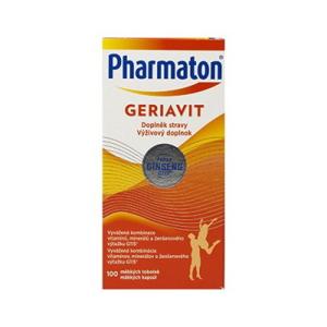 Pharmaton GERIAVIT inov. 2019 cps 1x100