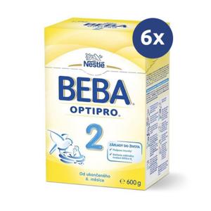 BEBA OPTIPRO 2 600g - balenie 6 ks