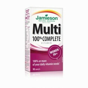 JAMIESON Multi complete pre ženy 50+ 90 tabliet