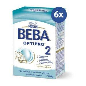 BEBA Optipro 2 600 g - balenie 6 ks
