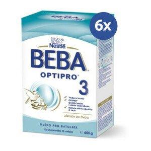 BEBA Optipro 3 600 g - balenie 6 ks