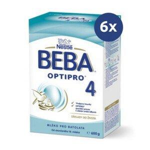 BEBA Optipro 4 600 g - balenie 6 ks