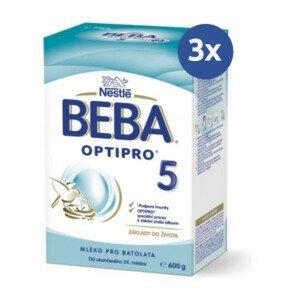 BEBA Optipro 5 600 g - balenie 3 ks