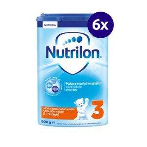 NUTRILON 3 800 g - balenie 6 ks