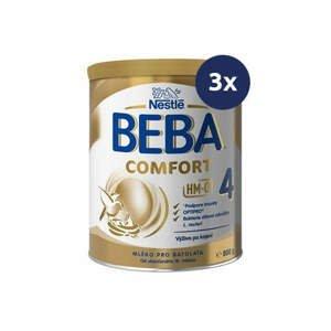 BEBA Comfort 4 HM-O 800 g - balenie 3 ks