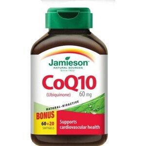 JAMIESON Koenzým Q10 60 mg 60 + 20 kapsúl ZADARMO