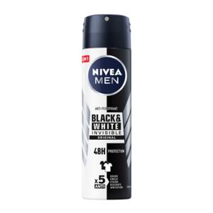 NIVEA MEN ANTI-PERSPIRANT Black&White Power sprej 150 ml