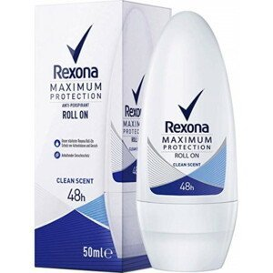 Rexona MAXIMUM PROTECTION clean scent roll on anti-perspirant 50 ml