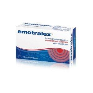 Emotralex rektálne čapíky na liečbu hemoroidov 10 ks