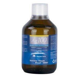 PHARMA ACTIV Koloidne striebro Ag100 hustota 25ppm 300 ml