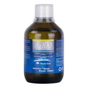 PHARMA ACTIV Koloidne striebro Ag100 hustota10 ppm 300 ml