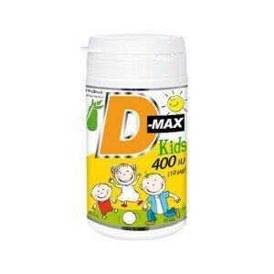 VITABALANS D-max Kids 400 IU 90 žuvacích tabliet