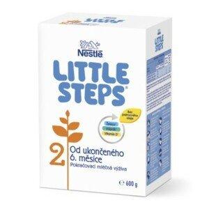 LITTLE STEPS 2 následná dojčenská mliečna výživa 600 g