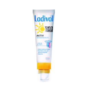 LADIVAL Aktiv na tvár a pery SPF 50+ krém 30 ml a tyčinka 3,2 g
