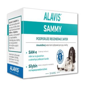 ALAVIS Sammy pre psy a mačky 30 kapsúl