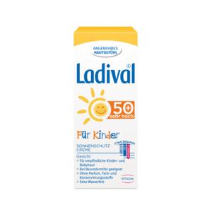 LADIVAL pre deti SPF50+ opalovací krém na tvár 50 ml
