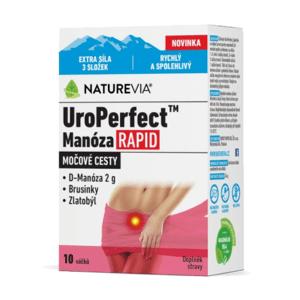SWISS NATUREVIA UroPerfect manoza rapid 10 vrecúšok
