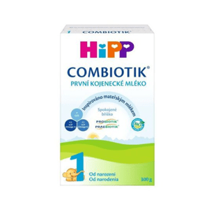 HiPP 1 BIO Combiotik počiatočná mliečna dojčenská výživa 300 g