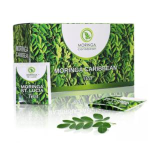 MORINGA Caribbean tea - drvené listy 20 x 1,8 g