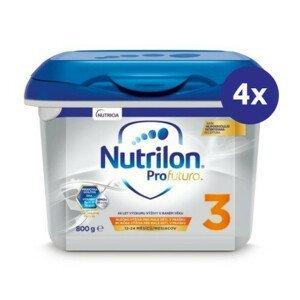 NUTRILON 3 ProFutura 800 g - balenie 4 ks