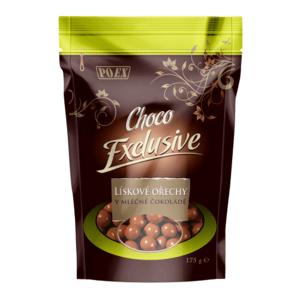 POEX Lieskové jadrá v mliečnej čokoláde 175 g