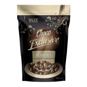 POEX Mandle v mliečnej čokoláde 700 g