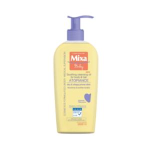 MIXA Baby atopiance čistiaci upokojujúci olej na telo a vlasy 250 ml