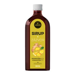 LEROS Sirup zázvor 250 ml