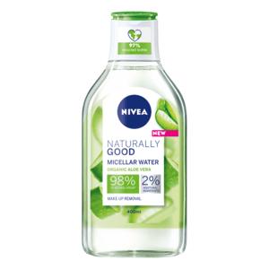 NIVEA Micelárna voda naturally good s aloe vera 400 ml