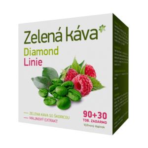 ZELENÁ KÁVA Diamond linie 90 + 30 kapsúl ZADARMO