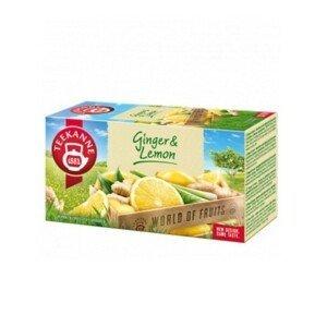TEEKANNE WOF Ginger & lemon 20 x 1,75 g