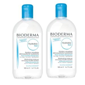 BIODERMA Hydrabio H2O festival 2 x 500 ml