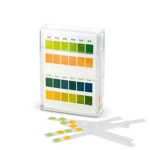 KOMPAVA Indikačný papierik testovanie pH moču 100 kusov