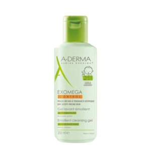 A-DERMA Exomega control umývací gél 2v1 200 ml