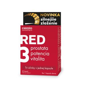 Cemio RED3 silnejšie zloženie 30cps