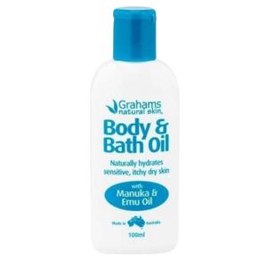 Grahams Natural Body&Bath Oil 100ml