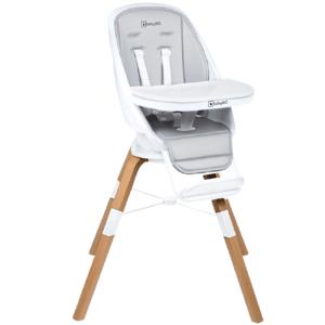 Jedálenská stolička CAROU 360° White