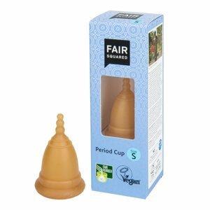 Fair Squared Menštruačný kalíšok S z prírodného latexu s látkovým sáčkom