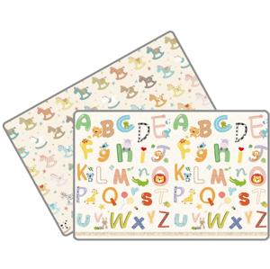 Lalalu Standard Podložka na hranie,Poníky a abeceda