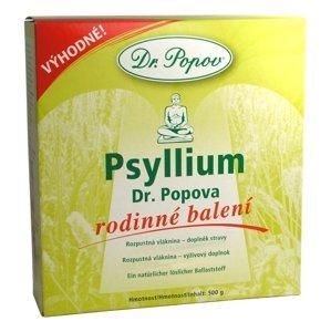 DR. POPOV PSYLLIUM rozpustná vláknina 500 g