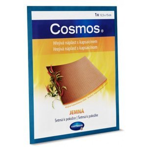 Cosmos Hrejivá náplasť s kapsaicínom JEMNÁ 12,5x15cm