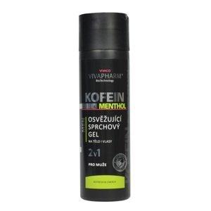 Vivapharm Kofeínový sprchový gél 2v1 s mentholom pre mužov 200ml