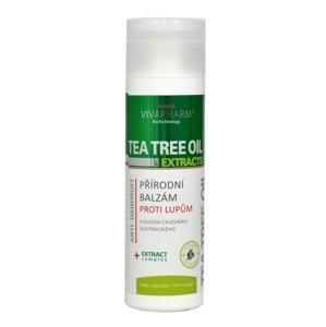 Vivapharm Tea Tree Oil & Extracts Balzam na vlasy proti lupinám 200ml