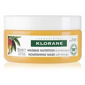Klorane Mango intenzívne vyživujúca maska na suché vlasy 150ml