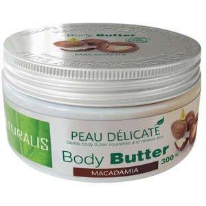 Naturalis Tělové máslo Macadamia 300g