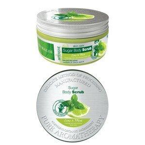 Naturalis cukrový peeling Limeta&Máta 300g